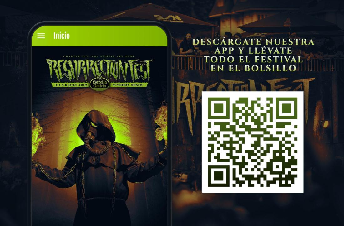 Aplicaciones móviles de Resurrection Fest Galicia 2019 disponibles para descarga